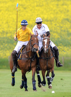 polo action between Las Estrellas and Silver Fox, Jubilee Cup final