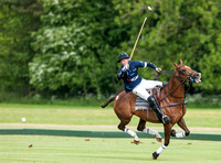 Rupert Lewis polo player in action Gerald Balding Cup final