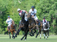 polo action between Dawson Group and Strategic Shipping in the Committee Cup Final