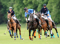 polo action between Lodge Service and Coxwell in the Humphrey Guiness PlateFinal
