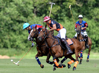 polo action between Apes Hill Club and H B Polo
