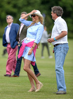 treading in at a polo match