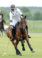 polo action shot of Michael Bickford, La Indiana team patron