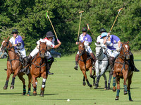 polo action between Cirencester Polo and Coombe Farm Wines