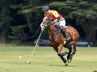County Cup polo action between Poulton/Balvenera and Tayto