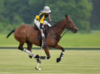 Dave Allen polo player in action