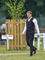 Jonathan Harmsworth, Viscount Rothermere at a polo match