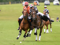 polo actrion between Cowdray Vikings and Murus Sanctus.