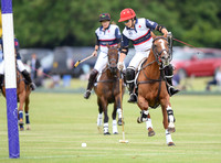 USA v England polo action of the Ladies International Final