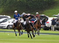 Gold Cup Polo action between King Power Foxes and La Bamba de Areco
