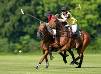 Syreford Plate polo action between Syreford and Foxcote Manor